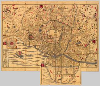 japanese maps of tokugawa era